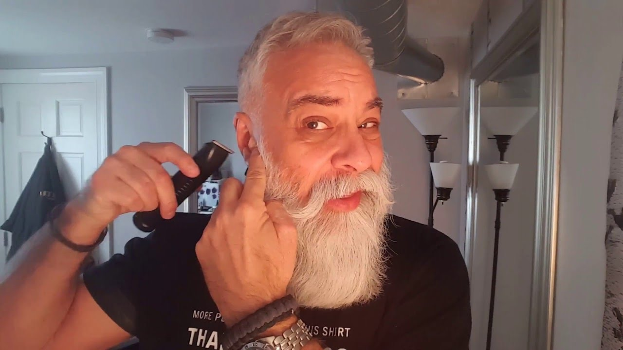 Big Beard Tips How To Trim Your Mustache Youtube