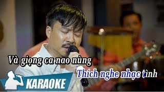 [KARAOKE] Đắn Đo - Quang Lập BEAT TONE NAM