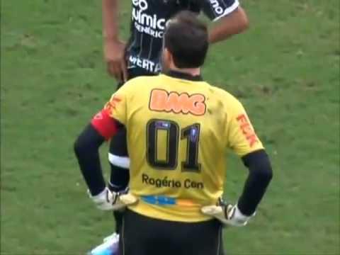 Goalkeeper Rogerio Ceni's 100th career goal!
