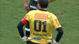 Goalkeeper Rogerio Ceni's 100th career goal!