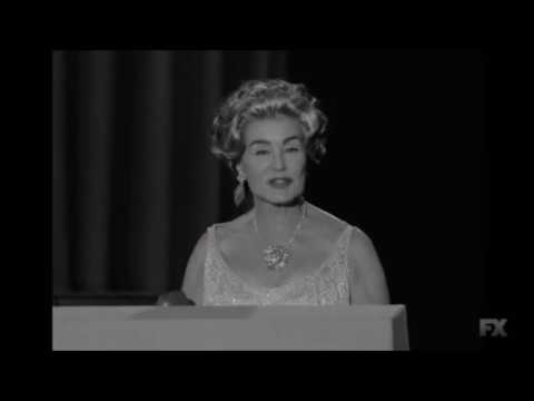 """Bette Davis loses the Oscar to Anne Bancroft - """"Feud: Bette and Joan"""""""
