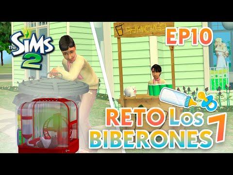 Segundo Bebe Juanito Es Niño Reto De Los 7 Biberones Los Sims 2 Ep 9 Youtube