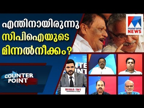 Counter Point Discussion about CPI stand in Thomas Chandy issue