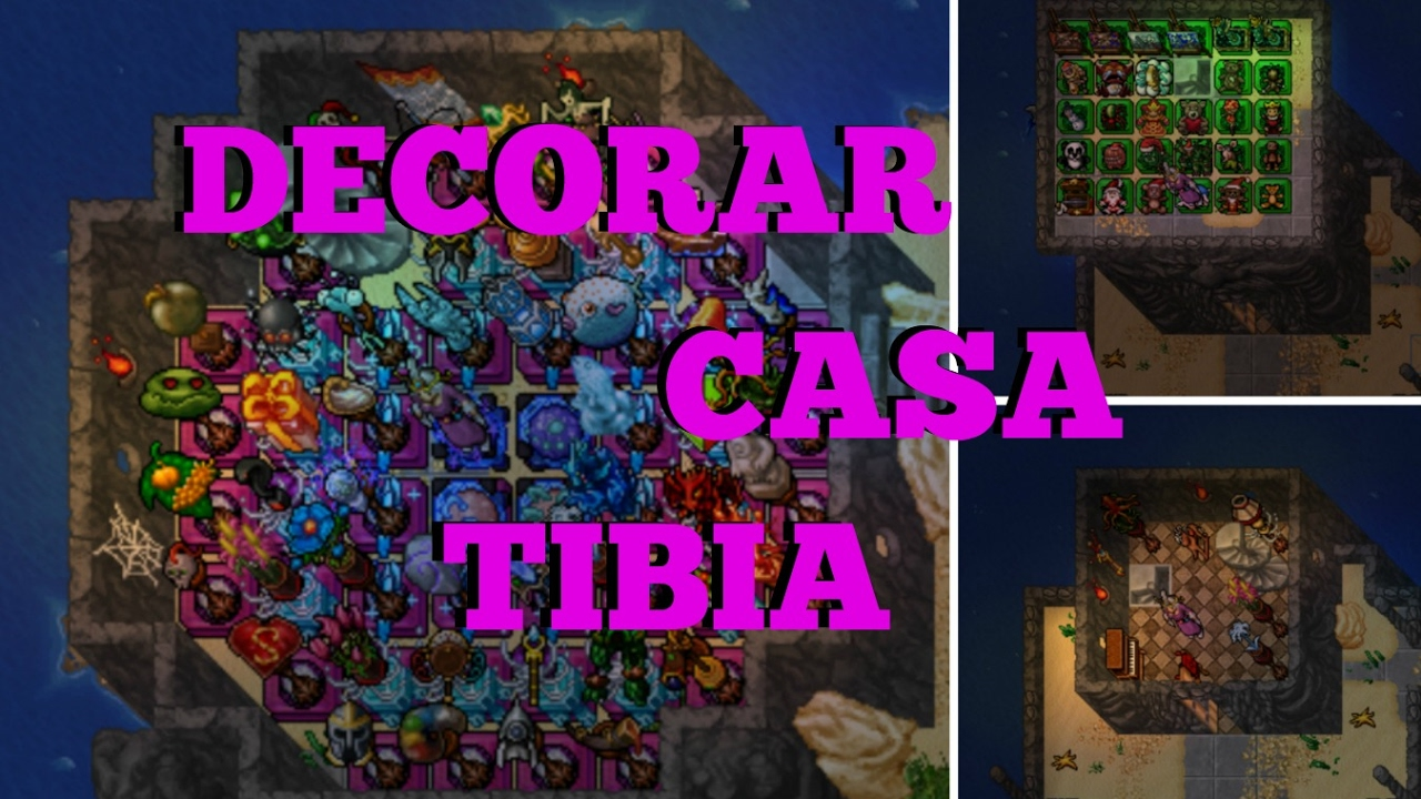 Como decorar casa no tibia menera youtube for Decorar casa de 45m2
