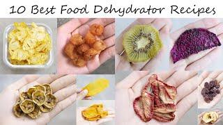 10 Best Food Dehydrator Recipe…