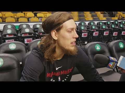 Kelly Olynyk talks about his return to Boston and community efforts with the #Celtics #Heat