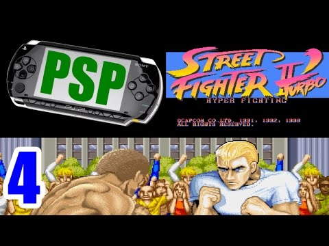 [4/5] Ryu Playthrough - STREET FIGHTER II DASH Turbo(PlayStation Portable)