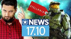 Stellaris klaut bei Halo, Entwickler reagiert - News