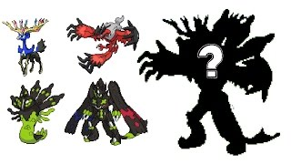 Pokemon Fusion Sprite: Request #46: Xerneas Yveltal Zygarde X&Y Legendaries