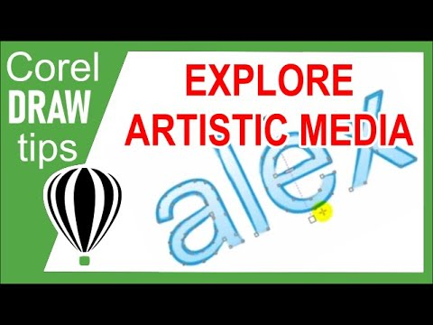Exploring Artistic Media in CorelDraw