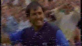 Seve Ballesteros v Colin Montgomerie.1st Play off hole.1991 PGA