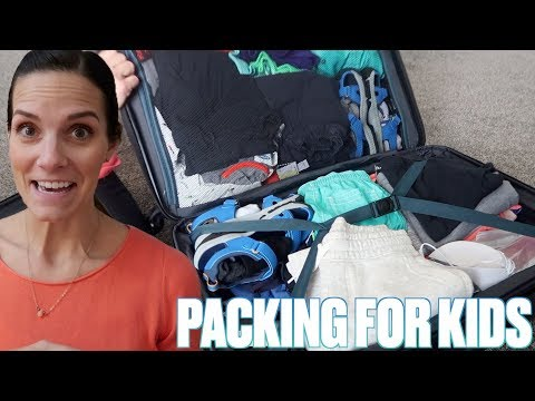 PACKING A FAMILY OF SIX FOR AN 11 DAY VACATION IN HAWAII | TRAVELING WITH KIDS