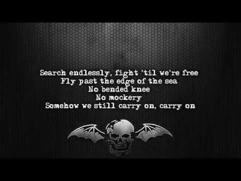 Avenged Sevenfold - Carry On [Lyrics on screen] [Full HD]
