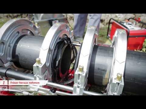 Машина за заваряване на тръби ROTHENBERGER Roweld P250A #rXNmmPF7eL0