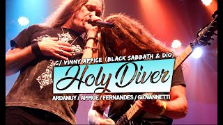 Holy Diver - Edu Ardanuy ao vivo c/ Vinny Appice (Black Sabbath e Ronnie James Dio)