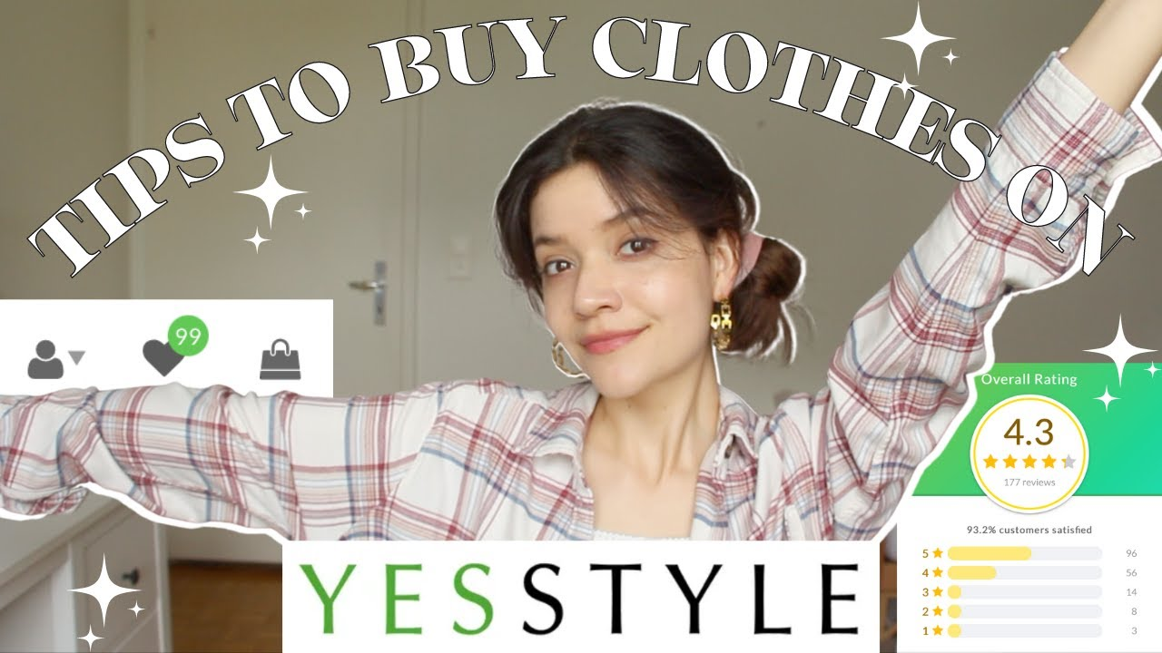 TIPS to buy clothes on YESSTYLE (and other online shops)