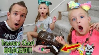 Opening Abandoned Treasure Chest! Real Gold & Pirate Treasure Map Found Inside!!!