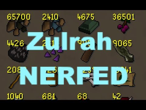 ZULRAH DROPS NERFED BY 30%!