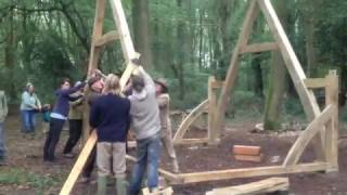 cruck frame shelter
