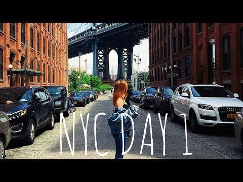 NYC TRAVEL VLOG: Dumbo, Greenwhich Village, Yankee Stadium | RubyGillett