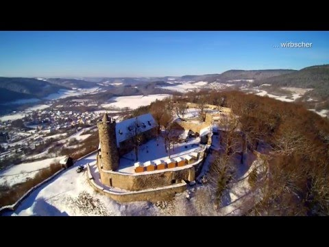 Burg greifenstein im winter bad blankenburg th ringen for Burg greifenstein bad blankenburg