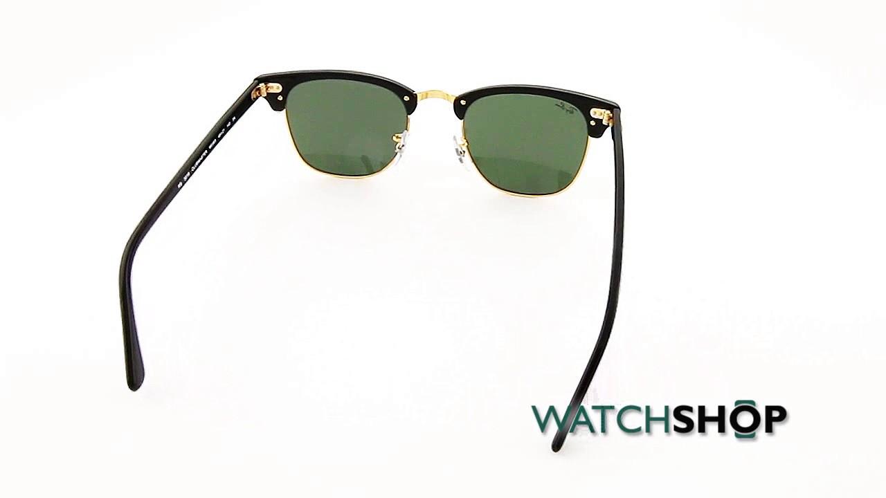 6c6a46023c cheap ray ban mens clubmaster fleck sunglasses rb3016 w0365 49 5bbd1 3a41c