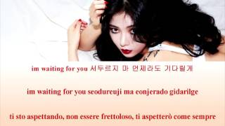 HYUNA (현아) – French Kiss [SUB ITA/ROM/HAN]