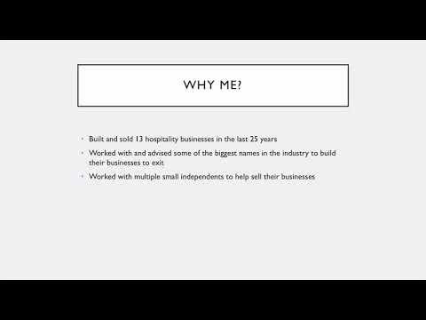 Caffè Culture - Exit Strategy Initial info