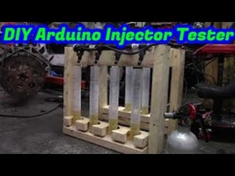 Super cheap injector flow tester, and decapped injector test