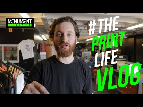 T Shirt Screen Printing Vlog: What Constitutes a Quality Screen Printing Shop?