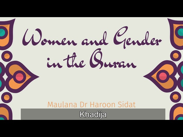 Prophet ﷺ Wives and the Significance of the Mothers of the Believers - Part 7 - Khadijah (RA)