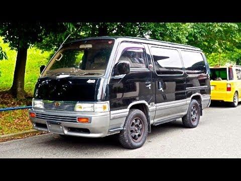 1992 Nissan Caravan Turbo Diesel 4x4 Usa Import Japan Auction