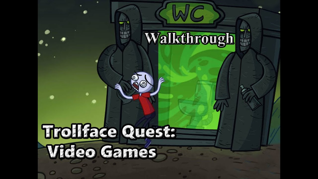 Trollface Quest Video Games