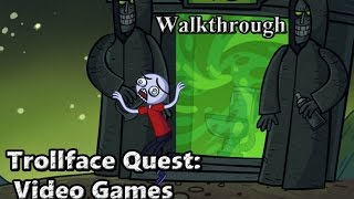 Trollface Quest: Video Games (Walkthrough)