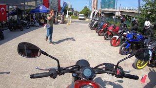 Yamaha XSR 700 Test Sürüşü | #YamahaYolda İZMİR