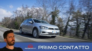 Volkswagen polo 1 0 TGI a metano, la prova video