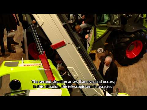 CLAAS SCORPION SMART HANDLING Agritechnica / 2011