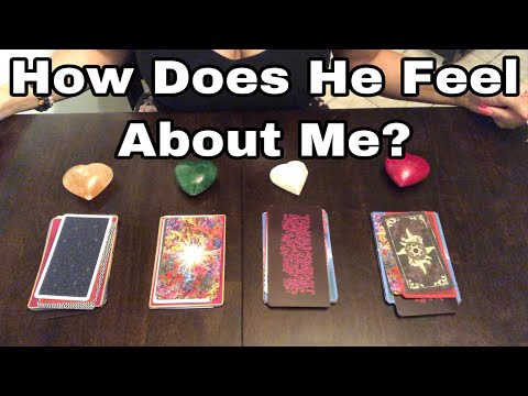 How Does He Feel About Me? Tarot Card Reading. Timeless. ❤️ Pick A Card ❤️