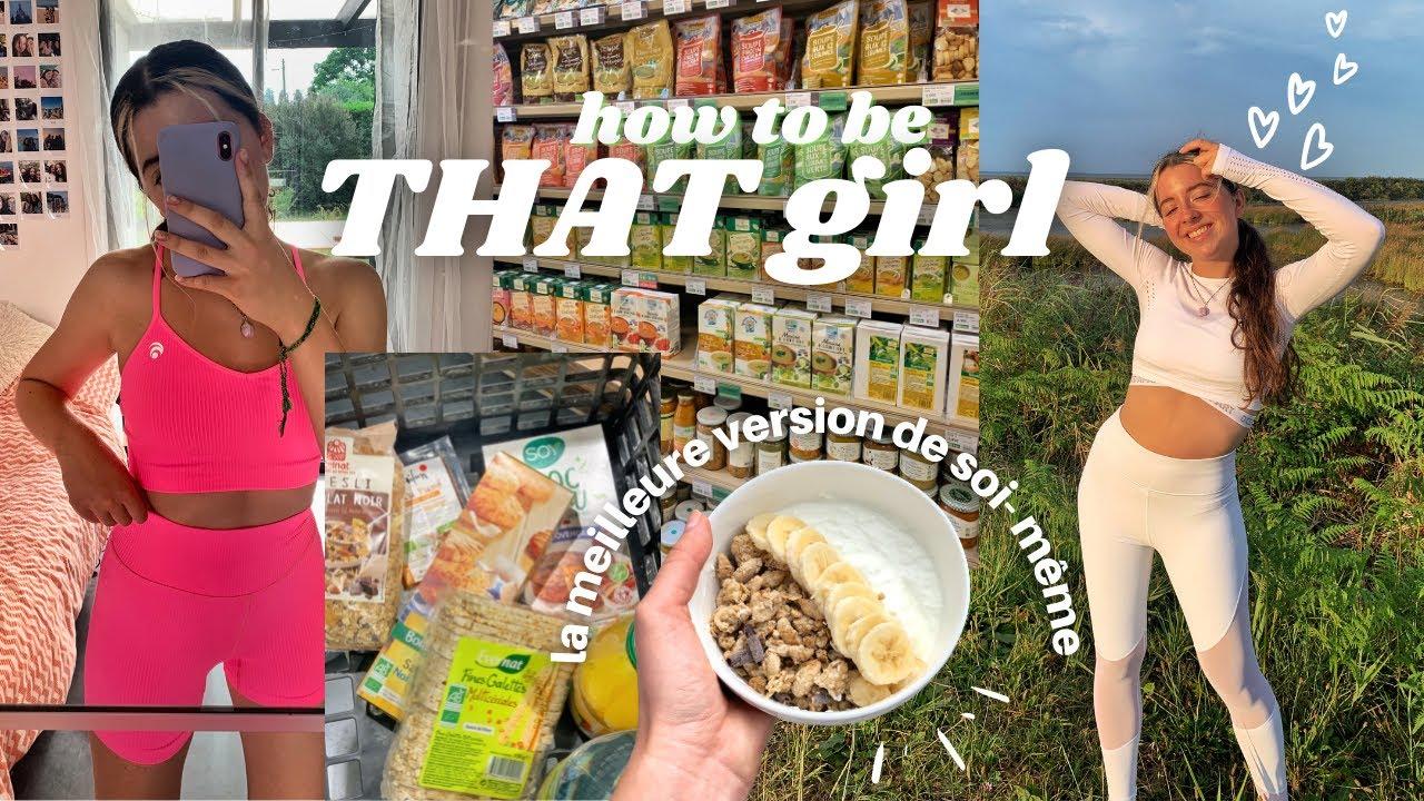 """CETTE FOIS J'ESSAYE (vraiment) DE DEVENIR """"THAT GIRL"""" : combiner sport, alimentation et sorties🌟"""