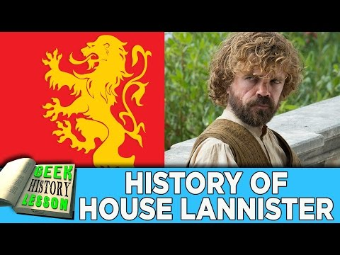 History of House Lannister | Game of Thrones - Geek History Lesson