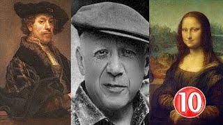 اشهر 10 رسامين في التاريخ