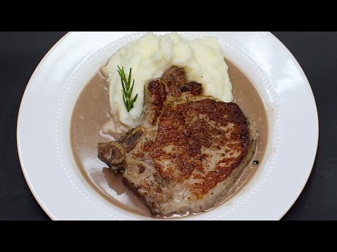 Pork Chops in Wine Sauce with Michaels Home Cooking