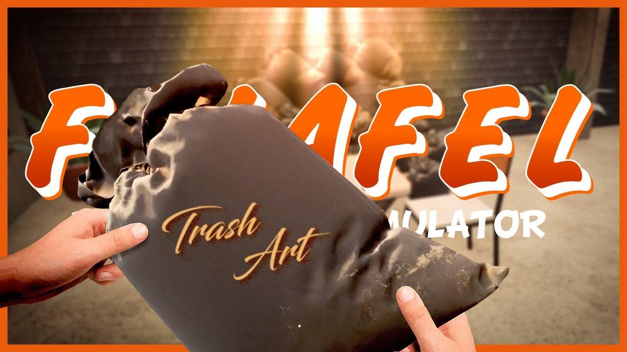 FALAFEL RESTAURANT SIMULATOR 🍲 7: Wie man aus Müllsäcken eine schöne Deko bastelt!
