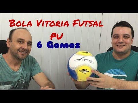 344fcbd8f1 Bola De Futsal Oficial Vitoria Termotech PU Super Resistente - YouTube