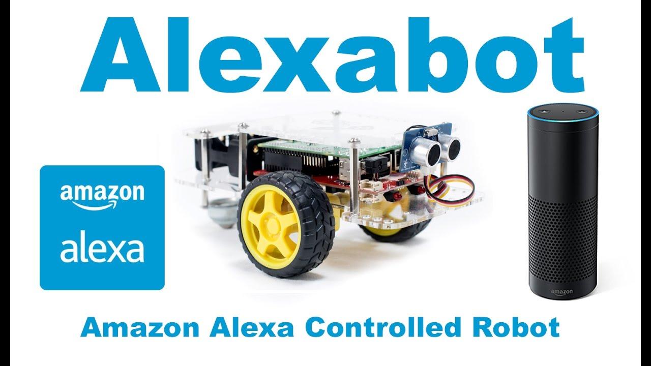 Alexabot the Amazon Alexa Controlled Robot With the Raspberry Pi