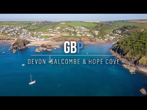 Hope Cove & Salcombe Harbour - Beautiful Devon