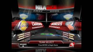 NBA 2K9 PC - Full game (part 1/10) - intro