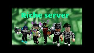 the server is rich! (Roblox Jailbreak)