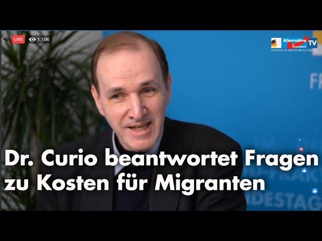 Online-Bürgerdialog zu AfD-Antrag | Dr. Gottfried Curio