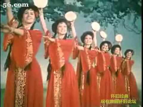 """""""Cai Die Fenfei"""" 《彩蝶纷飞》 (ethnic dance film from China, 1963)"""